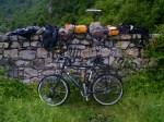 Bike and bags